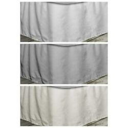 Quickfit 16 Pleated Bed Skirt With Elastic Fastener