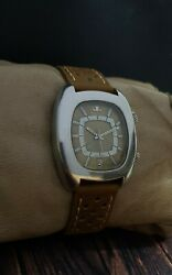 Jaeger Le Coultre Memovox E872 Automatic Alarm Vintage 60and039s Rare Swiss Watch.
