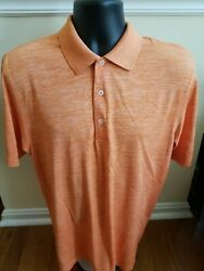 Bermuda Sands Medal Of Honor Golf Course Menand039s Orange Ss Polo Shirt Sz L