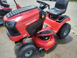 Barely Used Craftsman E225 42-in Lithium-ion Riding Mower Drive Is Touchy