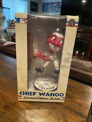 Cleveland Indians 1975 Style Chief Wahoo Bobblehead Tribe Guardians