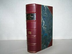 The Personal History Of David Copperfield Charles Dickens 1850 1st/1st Leather
