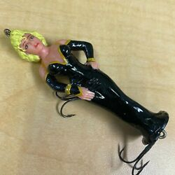 Rare Vintage Disney Marilyn Monroe Novelty Fishing Lure Impossible To Find