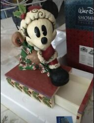 Disney Traditions Large Mickey Mouse Rare Retired Jim Shore Showcase
