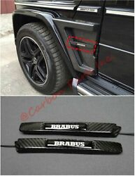 W463 Carbon Side Illumination On Fenders Brabus Style Mercedes-benz G-class