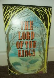 First Edition 9th Lord Of The Rings Pb 3-in-1 By Tolkien 1971 Allen And Unwin 1