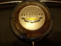 49-50 Ford Deluxe Steering Wheel Horn Ring Button W/emblem