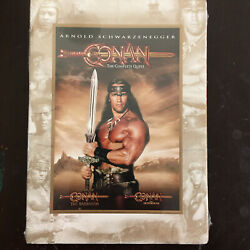 Conan The Complete Quest - Barbarian And Destroyer Dvd, 2008, 2-disc New Rare