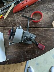 Vintage Herterand039s Model 109a Spinning Reel Made In Germany W/ Manual