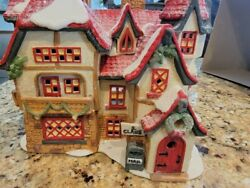 Dept 56 North Pole Village Series Lot Sale - 19 Items Included
