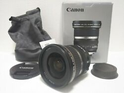Open Box Canon Ef-s 10-22mm F/3.5-4.5 Usm Wide Angle Lens Japan 777