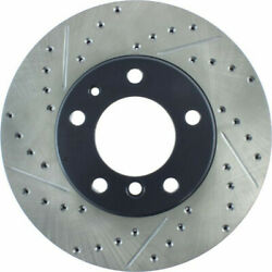 Stoptech For Bmw 535i/525i 1989-1995 Brake Rotor Sport Slotted And Drilled