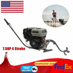 7.5hp 4 Stroke Outboard Motor 196cc General Gasoline Fishing Boat Parts Engine