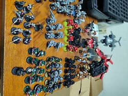 40k Space Marine Units And Bits Lot