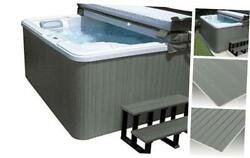 Spakit-fl-cge Hot Tub Cabinet Spa Replacement Kit Coastal Gray