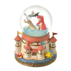 New Disney Store Ariel And Scuttle Snow Globe The Little Mermaid Story Collection