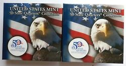 Us Mint 50 State Quarters Collection Kentucky Two Bu 10 Rolls P And D Mints