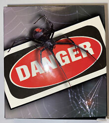 Silver Proof Coin. Tuvalu 2006 Red Back Spider 1 Oz. Deadly And Dangerous.
