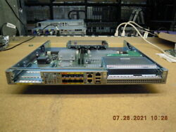 Cisco Asr1001-x/k9 Services Router With Dual Ac Power Supply For Parts / Repair