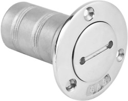 Acouto Boat Deck Fuel Filler 316 Stainless Steel Fuel Gas Oil Tank Deck Fill Cap