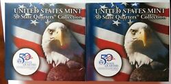 Us Mint 50 State Quarters Collection Rhode Island Two Bu 10 Rolls P And D Mints