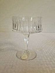 Royal Doulton English Full Lead Crystal Champagne Sherbet Sherry Candy Glass