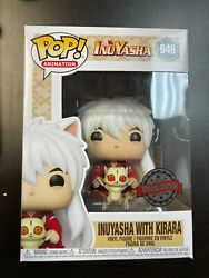 Funko Pop Inuyasha With Kirara 946 Special Edition Exclusive / Boxlunch