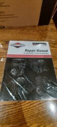 Briggs And Stratton Vanguard V Twin Ohv 4 Cycle Engine Repair Service Manual 1/95