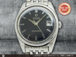 Omega Seamaster Ref.166.010 Vintage Cal.565 Date Automatic Mens Watch Auth Works