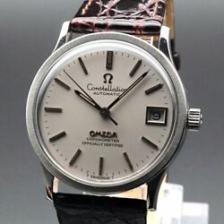 Omega Constellation Vintage Overhaul Cal.1001 Automatic Mens Watch Auth Works
