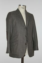 Loro Piana Unlined Jacket Giacca 100 Cashmere It 50 Us Uk 40 New With Tags