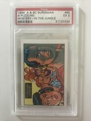 1968 Aandbc Superman 65 A Puzzling Mystery In The Jungle Psa 5 Invest