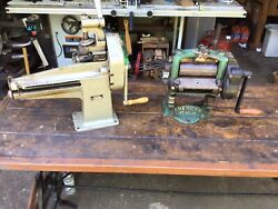 Leather Splitting Machines American And Sutton Shoe .free Freight To Terminal