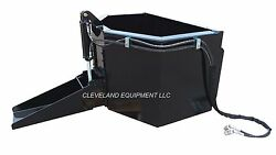 New Hydraulic Concrete / Material Bucket Attachment For Bobcat Skid-steer Loader