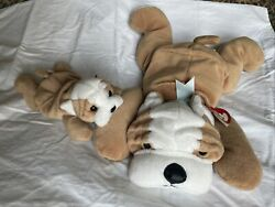 Wrinkles Ty Beanie Baby And Bruiser Large Ty Beanie