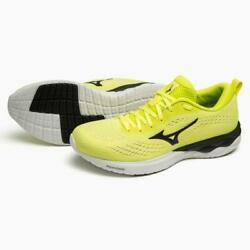 Mizuno Wave Revolt2 Menand039s Black Yellow Running Shoes Sports Outdoor Japan New