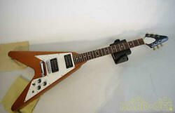 Used 1996 Gibson Flying V Electric Guitar Other Body Types Natural Color