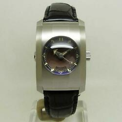 Dunhill Watch Dcx991am City Fighter Automatic World Limited 2000 Brown Dial