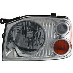 Fits Nissan Frontier Headlight 2001-2004 Driver Side W/ Bulbs Capa For Ni2502130