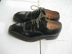 Bettanin And Venturi Mens Shoes Black Leather Size 7 About Us 8