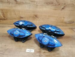 ✅ Oem Bmw F22 F23 M235 M240 Front Rear Left Right Brake Calipers Set Brembo Blue