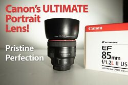 Canon Ef 895mm F/1.2l Ii Usm The Proffessional's Choice For Portraiture Photo