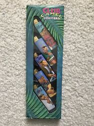 Club Camel Lighters 5 Pack New