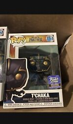 Funko Pop Tandrsquochaka 867 Black Panther Hollywood Store Exclusive Marvel Ships Now