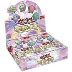 Brothers Of Legend Booster Box 1st Edition Factory Sealed Yu-gi-oh Presell