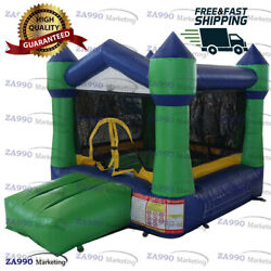 8.2x6.6ft Inflatable Bounce House With Roof With Air Blower