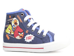 New Sneakers Casual Shoes Low Shoes Boysand039 Shoes Angry Birds Blue 28-35 16
