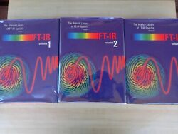 The Aldrich Library Of Ft-ir Spectra - Three3 Volume Set -2nd Ed. Hardcovers