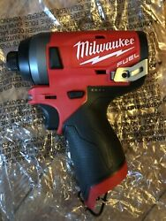 Milwaukee 2553-20 M12 Fuel 1/4 Impact Driver Tool Only