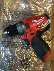 Milwaukee 2504-20 M12 Fuel Fuel Brushless 1/2 Hammer Drill Tool Only